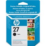 HP 27 Print Cartrid1 x Black 220 Pages