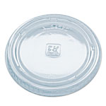 Fabri-Kal Portion Cup Lids, Fits Portion Cups and Containers, Clear