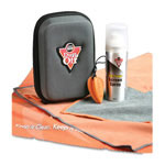 Falcon Safety Screen Care Kit, Black/Silver