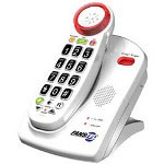 Fans-Tel EzPro Amplified Cordless Phone, 50 dB, ITAD, 2.4ghz