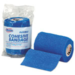 "First Aid Only First-Aid Refill Flexible Cohesive Bandage Wrap, 3"" x 5 yd, Blue"