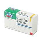First Aid Only Instant Cold Compress, 1 Compress/Box, 4 x 5