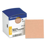 "First Aid Only Moleskin/Blister Protection, 2"" Squares, 10/Box"