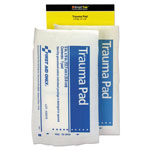 First Aid Only SmartCompliance Refill Trauma Pad, 5 x 9, White, 2/Bag