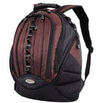 Mobile Edge MEBPS7 Select Backpack - Notebook Carrying Backpack - Black, Dr.Pepper Red