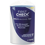 First Check Alcohol Breath Test Kit, 1 Each