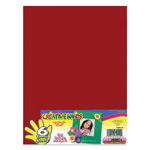 "Fibre-Craft 9"" x 12"" Foam Sheets for Arts & Crafts, 6/Pack Primary Assorted"
