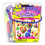 Fibre-Craft Geometric Foam Stickers, 3 D, 6oz Bucket