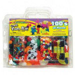 Fibre-Craft Craft Kit, Includes Wiggle Eyes, chenille, Pam Pam, Beeds, and Lacing