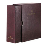 Franklin Covey Personal Organizer Classic Storage Case w/Sleeve, 5-1/2 x 8-1/2, Burgundy