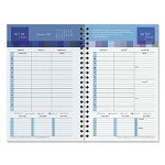 At-A-Glance Bold & Bright Wirebound Wkly Planner Refill, 2 Pg/Week, 5.5 x 8.5