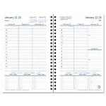 "Franklin Covey Compass Wirebound Weekly Planner Refill, 2 Pages per Week, 5 1/2"" x 8 1/2"""