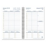 At-A-Glance Compass Wirebound Weekly Planner Refill, 2 Pg/Week, 5-1/2 x 8-1/2