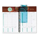 Franklin Covey Captivations Wirebound Weekly Planner Refill, 5-1/2 x 8-1/2
