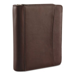 Franklin Covey Aspen Leather Ring Bound Organizer, 8-1/8 x 10, Brown