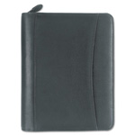 "Franklin Covey Black Looseleaf Nappa Leather Organizer, 5 1/2"" x 8 1/2"""