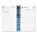 Franklin Covey Cornerstone Dated Two-Page-Per-Day Planner Refill, 5-1/2 x 8-1/2