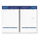 Franklin Covey Compass Wirebound Weekly Planner Refill, 5-1/2 x 8-1/2