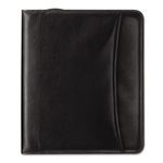 "Franklin Covey Black Looseleaf Sierra Simulated Leather Organizer, 5 1/2"" x 8 1/2"""