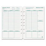 "Franklin Covey Original Dated Weekly/Monthly Planner Refill, Jan. Dec., 5 1/2""x8 1/2"""