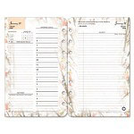 Franklin Covey Blooms Dated Daily Planner Refill, January-December, 4-1/4 x 6-3/4