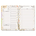 "Franklin Covey Blooms Dated Daily Planner Refill, January-December, 5 1/2""x8 1/2"""