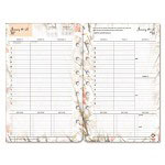 Franklin Covey Blooms Dated Weekly/Monthly Planner Refill, January-December, 5-1/2 x 8-1/2