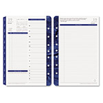 Franklin Covey Monticello Dated Two-Page-per-Day Planner Refill, 5-1/2 x 8-1/2, 2016