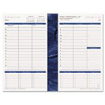 Franklin Covey Monticello Dated Weekly/Monthly Planner Refill, 5-1/2 x 8-1/2