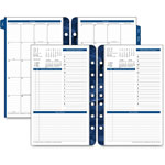 Franklin Covey Monticello Dated One-Page-per-Day Planner Refill, 5 1/2 x 8 1/2, 2018