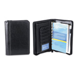 Franklin Covey Ring Bound Binder Organizer Set, Zip-Around Closure, 10 1/4 X 7 1/4, Black