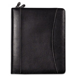 Franklin Covey Day Planner Deluxe Starter Set, Sedona Leather Binder, 5 1/2 x 8 1/2, Black