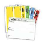 "Fellowes Storage Box Labels, 8-1/2"" x 11"", Assorted"