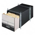 Fellowes Storage Drawers, Legal Size, 6/Carton