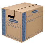 SmoothMove™ Moving Box, Extra Strength, Small, 12w x 16d x 12h, Kraft, FastFold