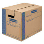 Fellowes SmoothMove Prime Moving Boxes w/Tuck Lock Lid, 16l x 12w x 12h, Kraft, 15/Carton