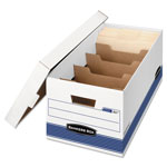 Fellowes Dividerbox Storage Boxes, Letter Size