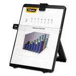 Fellowes Nonmagnetic Desktop Letter Size Copyholder, Black