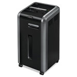 Fellowes Powershred C-225CI Continuous-Duty Cross-Cut Shredder, Black/Silver