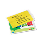 Fellowes Clear file card laminating pouches for hot laminating machines, 25/pack