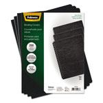 "Fellowes 60# Grain Texture Classic Binding Covers, Black, 11 1/4"" x 8 3/4:, 200/Pack"