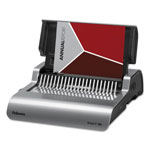 "Fellowes Gray Electric Comb Binding Machine, 16 7/8""x15 3/8""x5 1/8"""