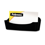 Fellowes Business Card/Paper Clip Holder, Graphite