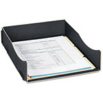 Fellowes Earth Series 100% Recycled Desk Tray, Letter, Black