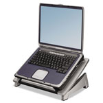 Fellowes Laptop Riser, Tilt Adjustable, Black/Silver