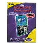 Fellowes DVD Case Inserts, Laser/Ink Jet Printer, Matte Finish, 20/Pack