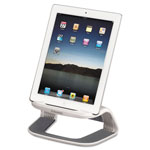 "Fellowes Tablet Riser, 8.4""x5.4""x4.63"", White/Gray"