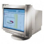 "Fellowes Privacy Filter for 19 21"" CRT, Anti Radiation/Static/Glare, Platinum"