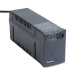 Fellowes 99066 Line Interactive with AVR UPS Battery Backup System, 500VA, 4 Outlet, 6 ft. Cord
