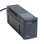 Fellowes 99067 Line Interactive with AVR UPS Battery Backup System, 600VA, 4 Outlet, 6 ft. Cord